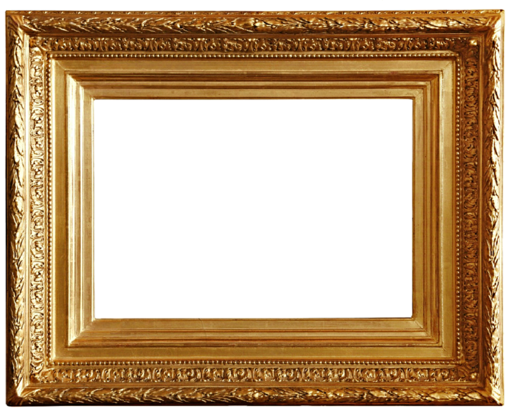 gold frame clipart look clip art images clipartlook #25125