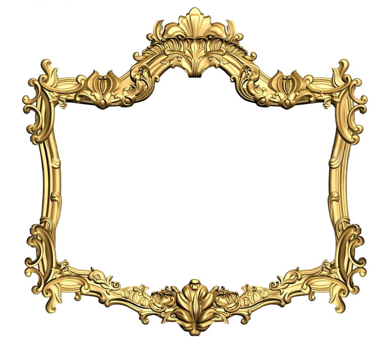 gold frame, frame carved gold image pixabay #25109