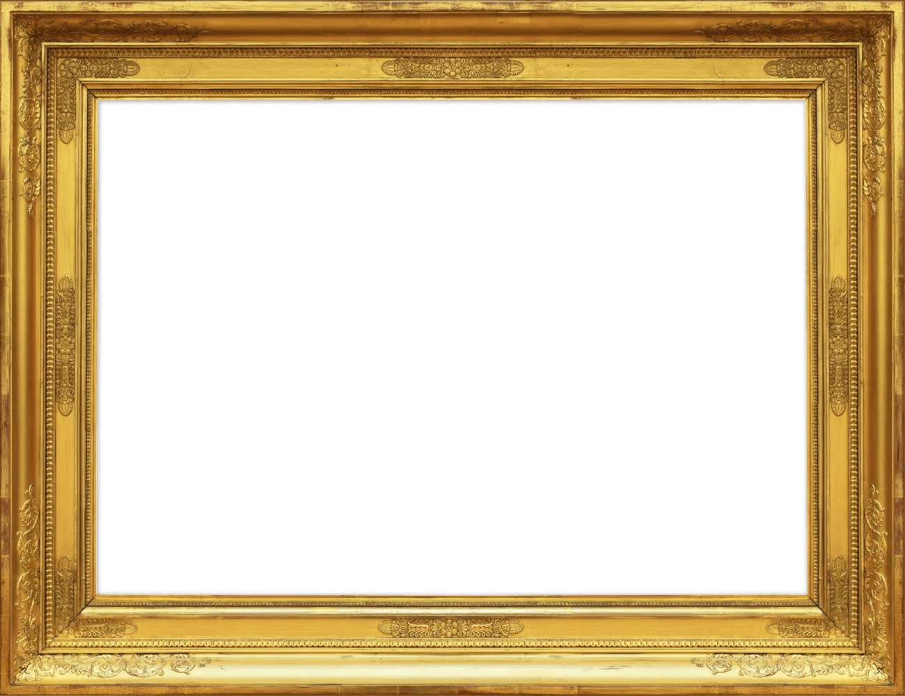 gold frame, gold luxury frame png #25111