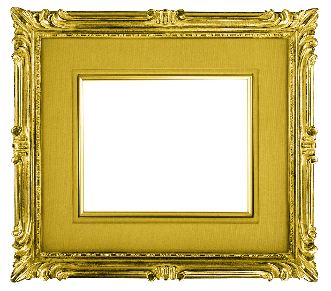 gold frame landscape transparent png stickpng #25124