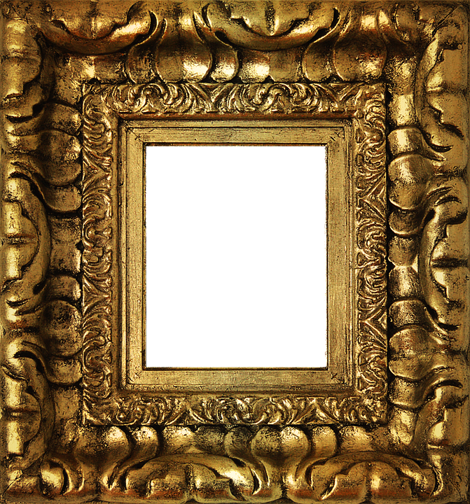 gold frame, png golden frame gold box photo pixabay #25120