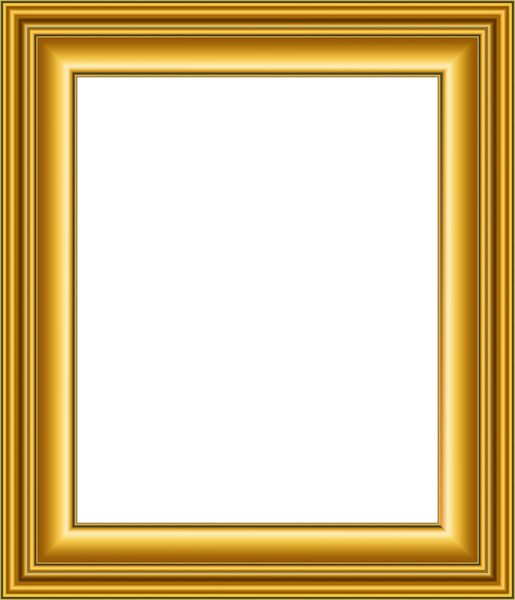 old gold frame transparent png image gallery #25138