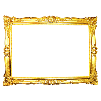 ornate gold frame transparent png stickpng #25129