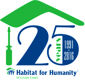habitat for humanity 25 years png logo #5517