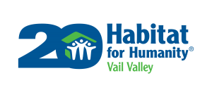 habitat for humanity vail valley 20 years png logo