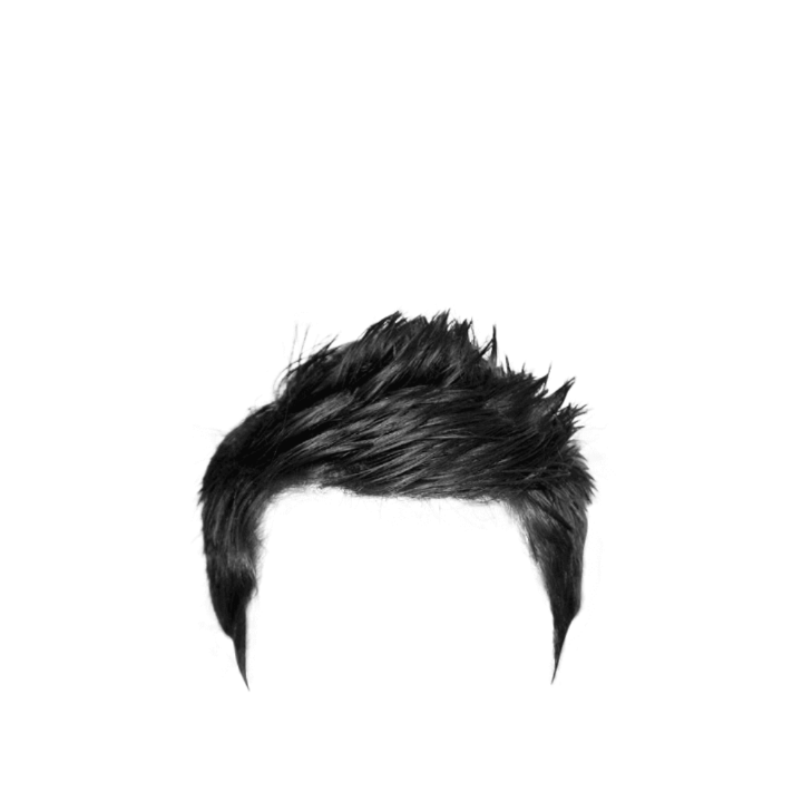 part real hair png zip file download men hair #12900
