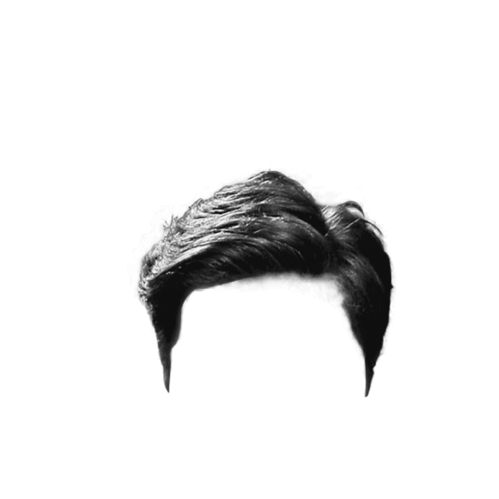 part real hair png zip file download men hair #12904