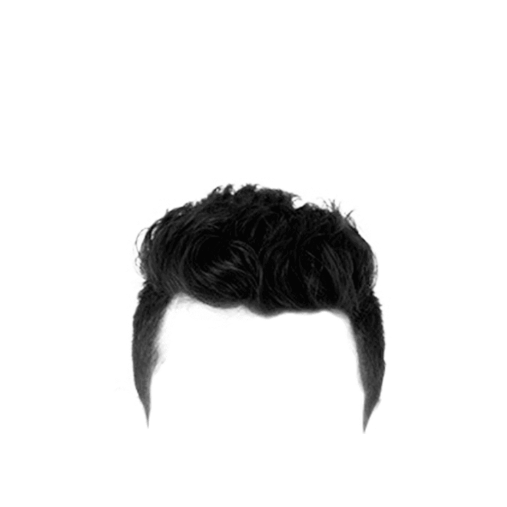 part real hair png zip file download men hair #12917