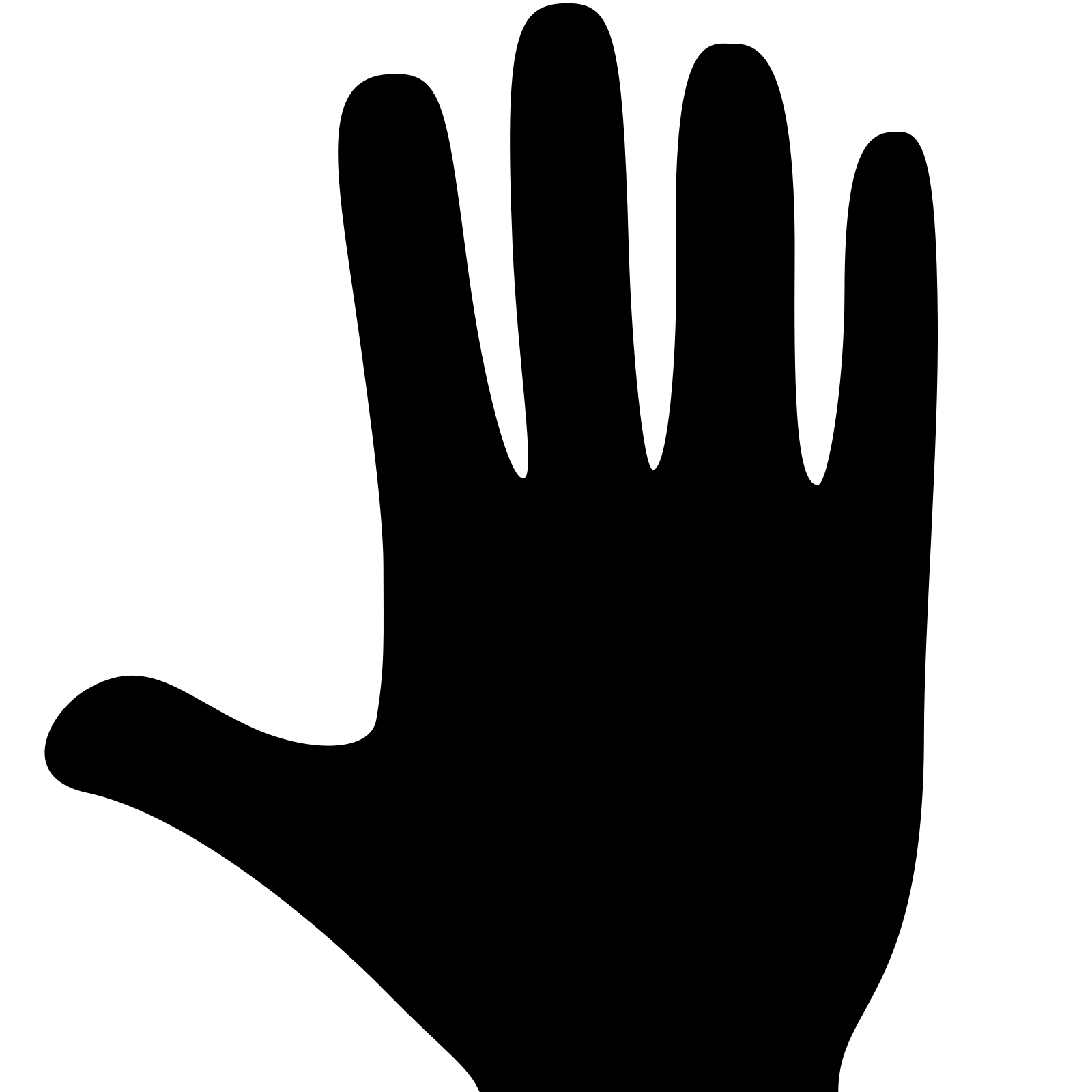 hand icon download png and vector #10611