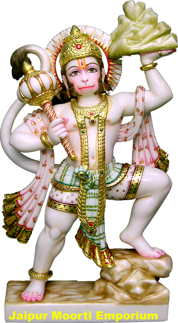 hanuman, marble statue manufacturer and supplier customized 20559