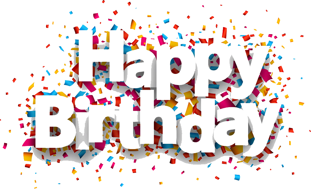 happy birthday png birthday party blaster confetti png design #9272
