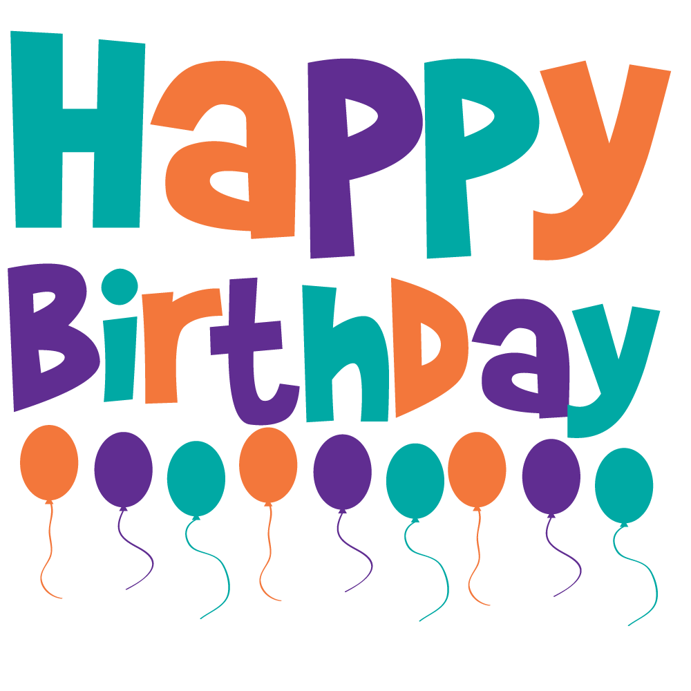 happy birthday png clipart best #9257