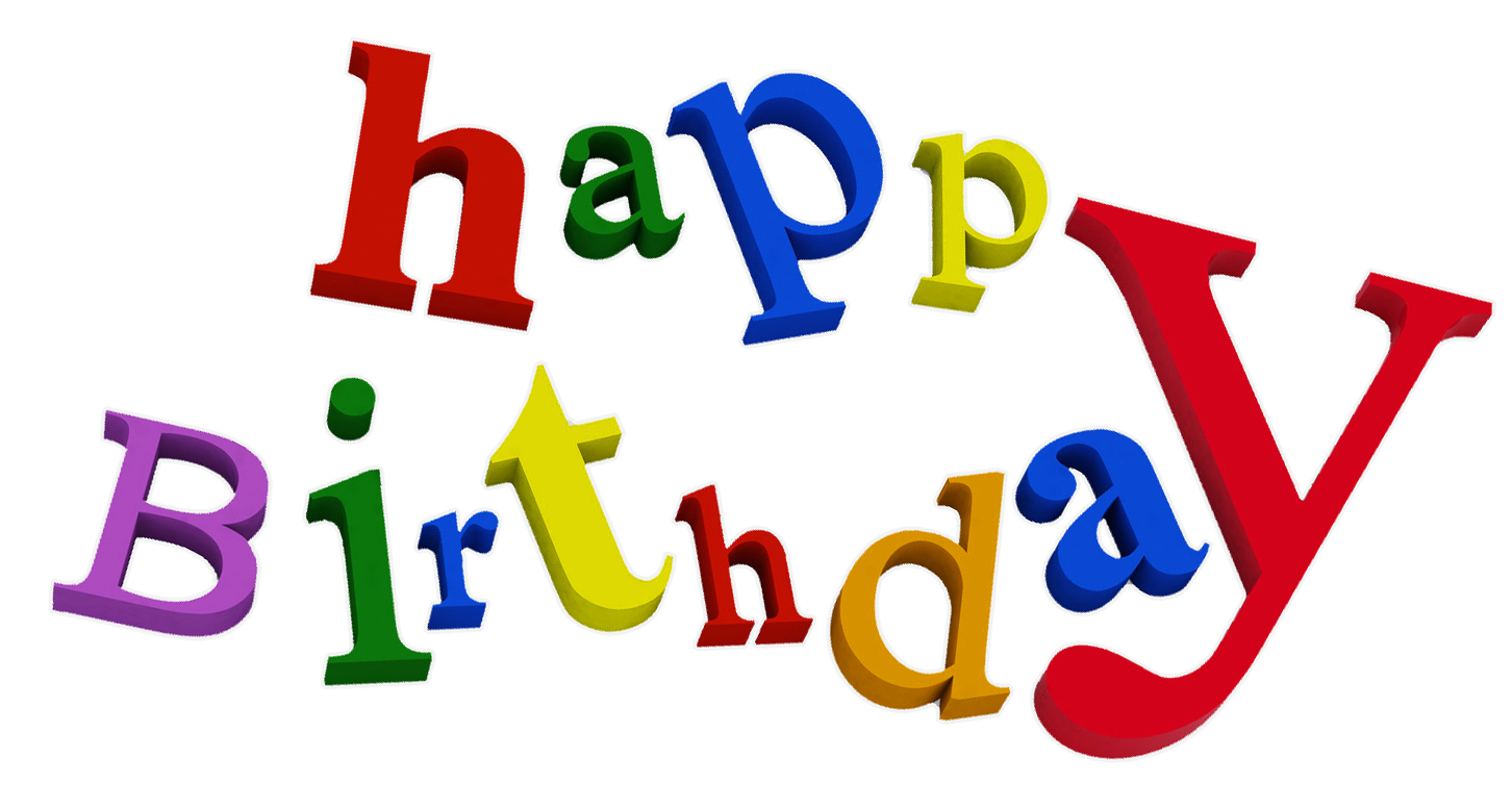 Happy Birthday Transparent Png Backgrounds Free Clip Art Free Transparent Png Logos