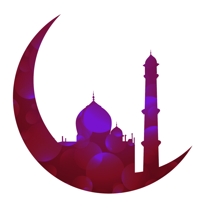 happy eid download mosque design with transparent #39572