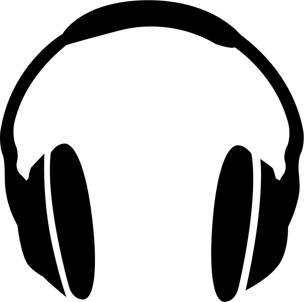 headphones svg png icon download #14684
