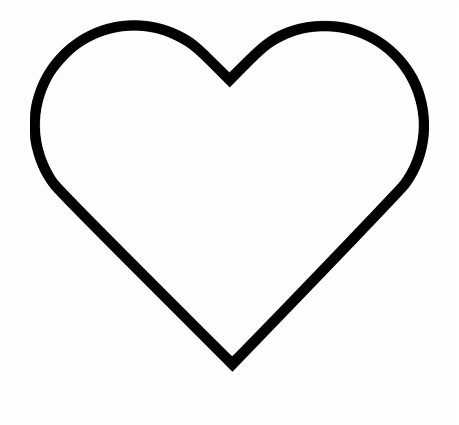 png black and white library chalk heart clipart heart #27644