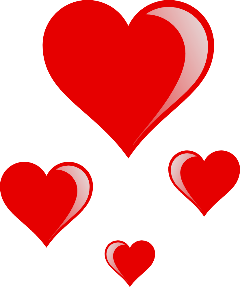 hearts download clipart #8076