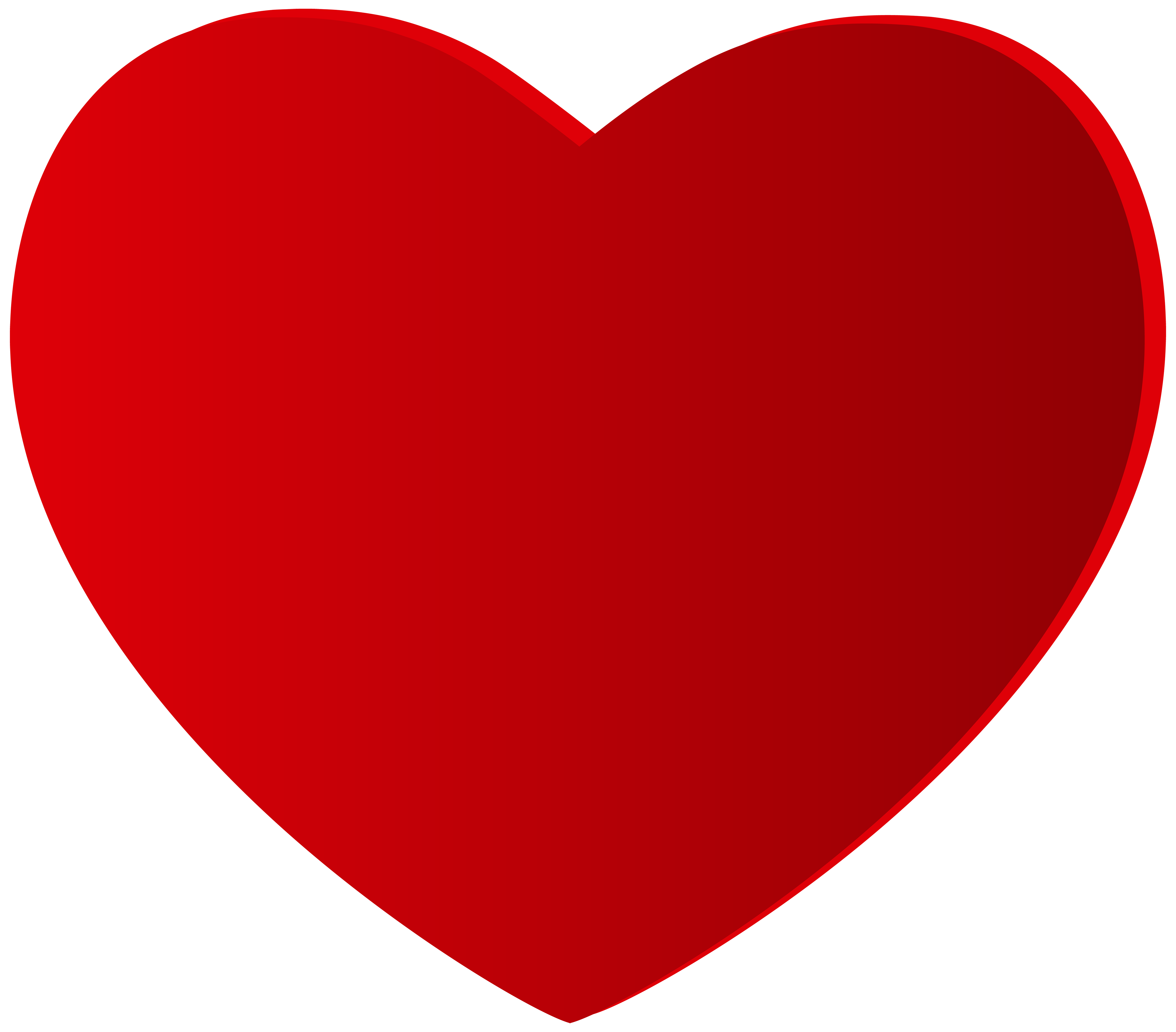 large heart best clipart #8092