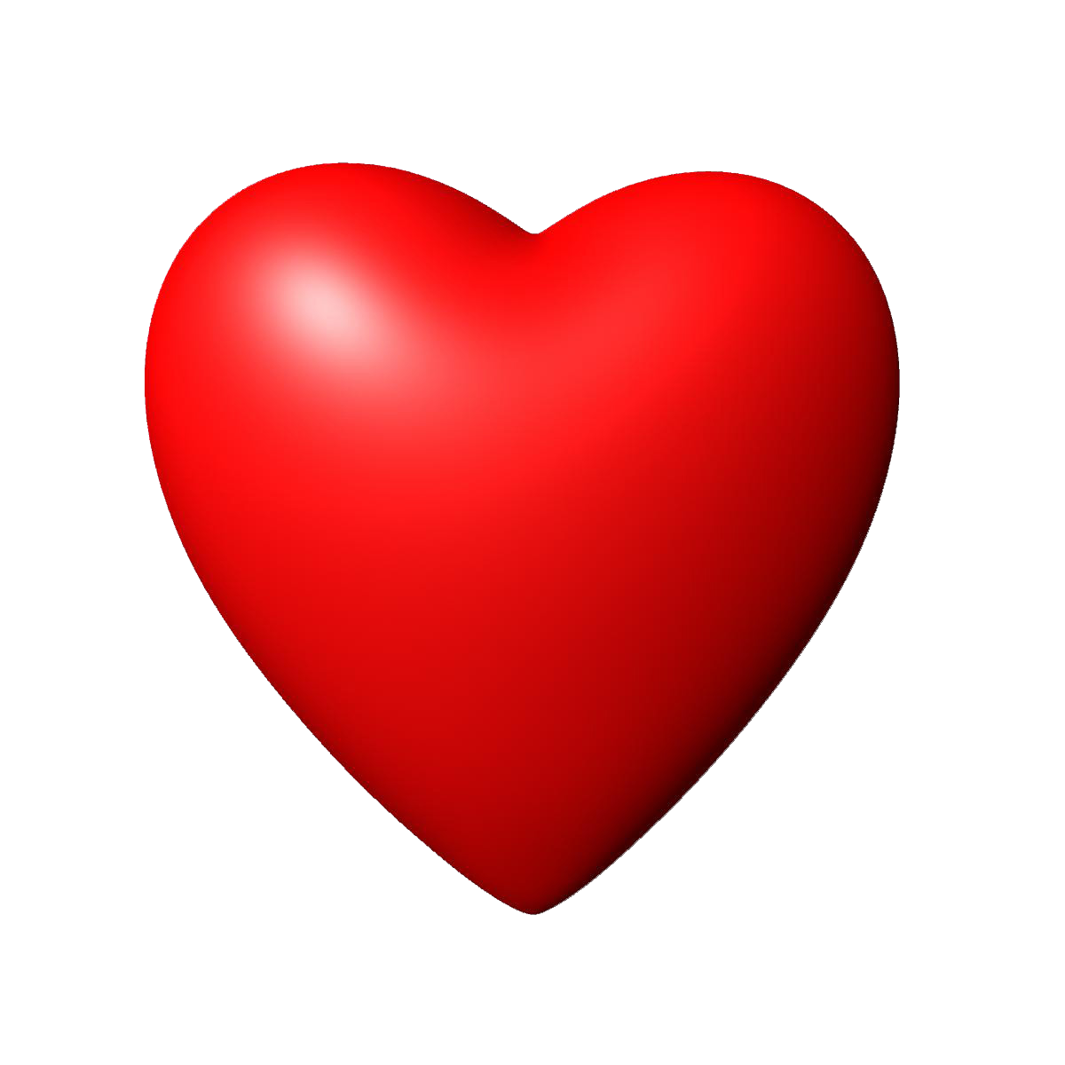 red heart transparent heart images #8059