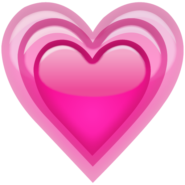 growing pink heart emocition #14341