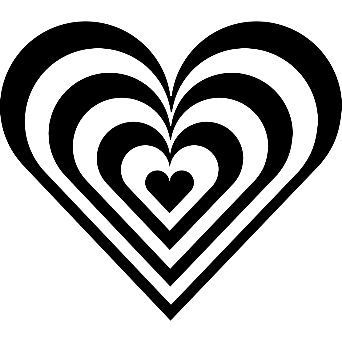 heart border clipart black and white clipart library #14320