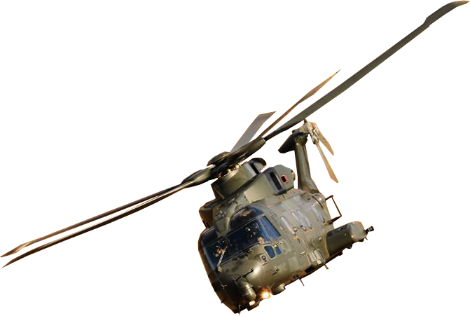 military helicopter transparent image #19201
