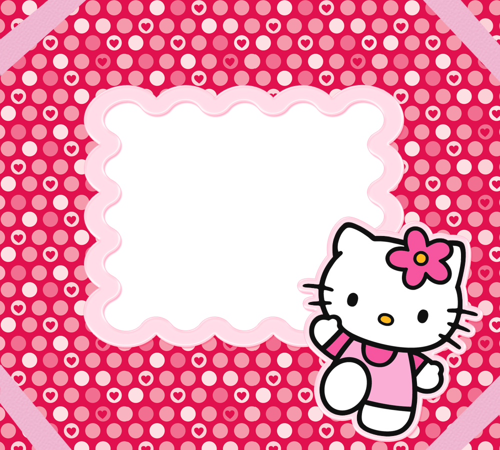 hello kitty borders images and backgrounds #27947