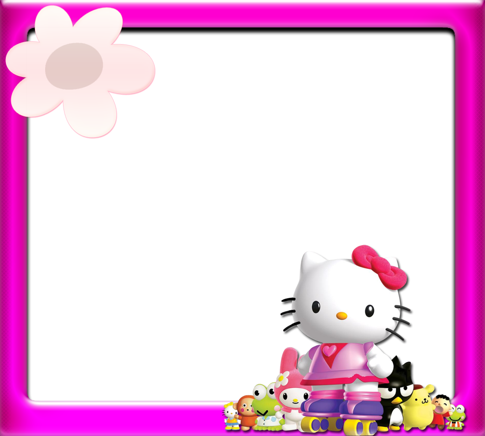 hello kitty borders images and backgrounds #27949