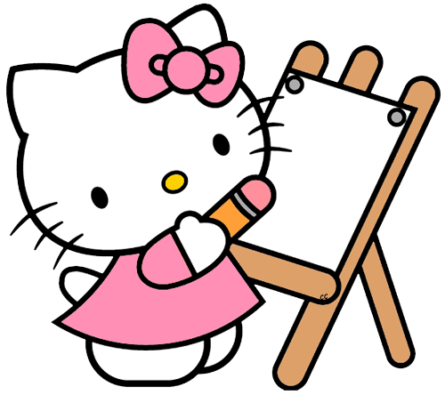 hello kitty clip art cartoon clip art #27939