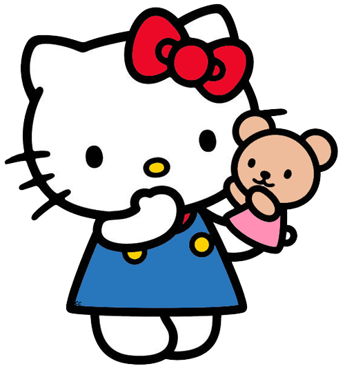 hello kitty clip art cartoon clip art #27927
