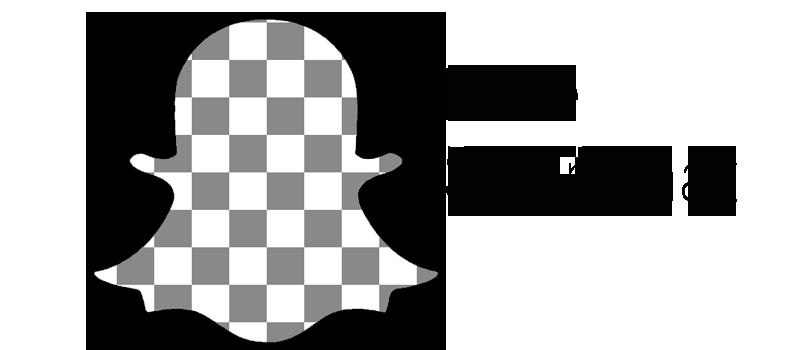 hide snapchat logo png