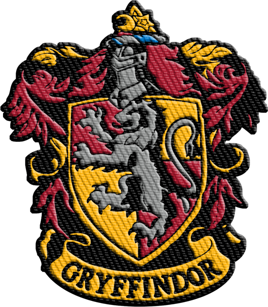 harry potter gryffindor iron patch geek baby #7928