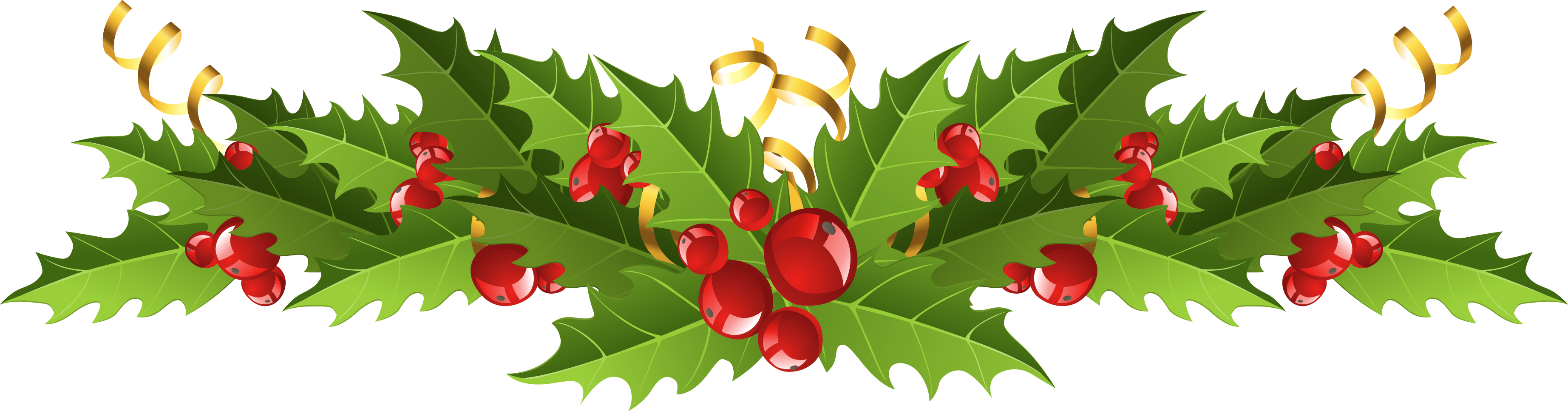 holly, mistletoe cliparts transparent download clip #28130