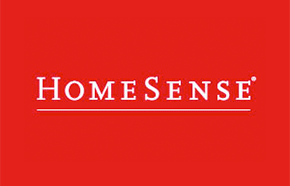 homesense brand on red background logo png #160