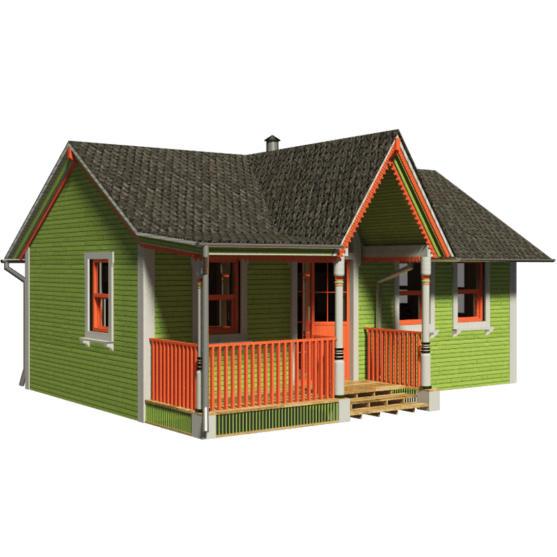 victorian small house plans #11143