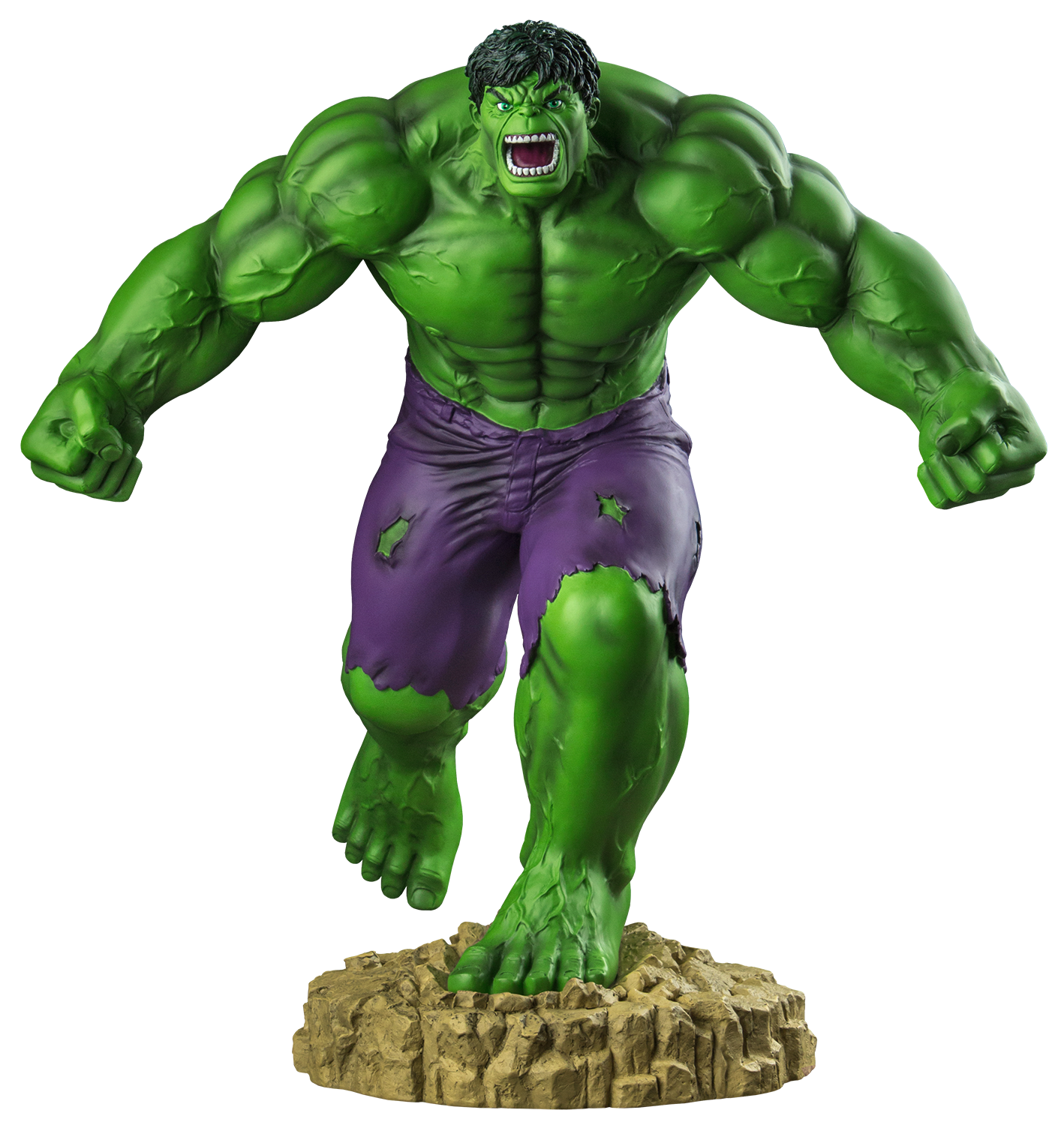 the incredible hulk scale statue marvel #12246