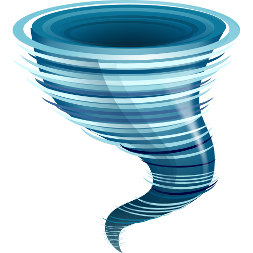hurricane, tornado icon large weather iconset aha soft team #30187