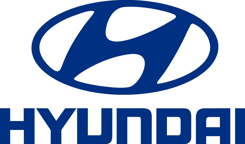 blue hyundai logo #341