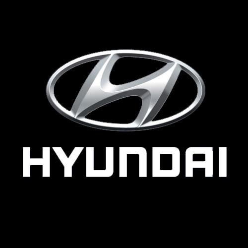 Hyundai Logo Black Background Png
