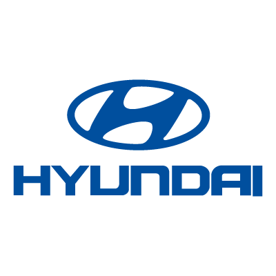 hyundai logo blue vectoral design 367