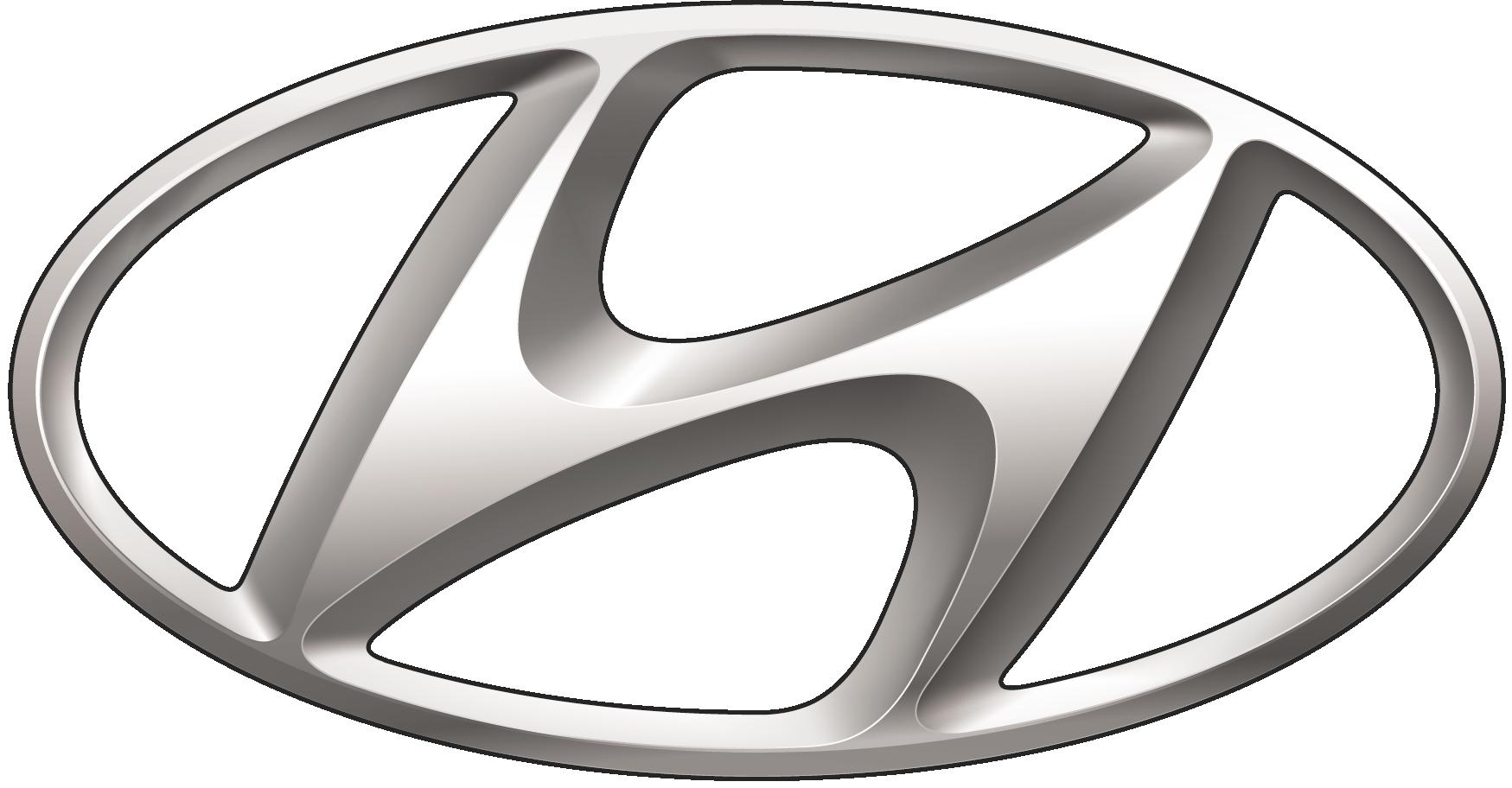 hyundai silver logo png #346