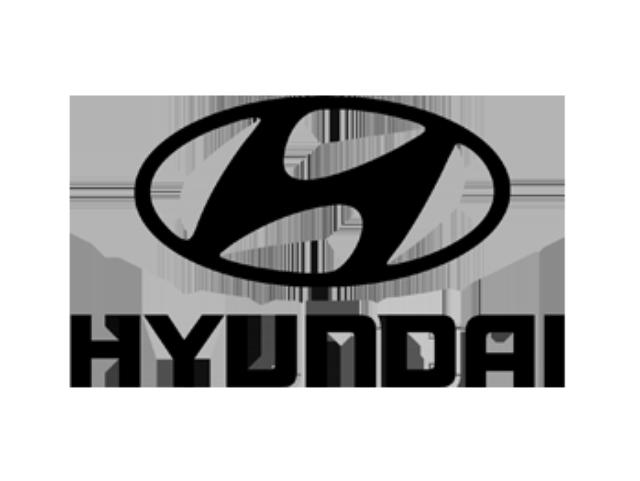 black hyundai logo png #347