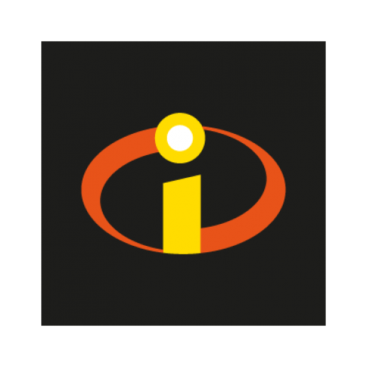 the incredibles movies logo vector black png #5186