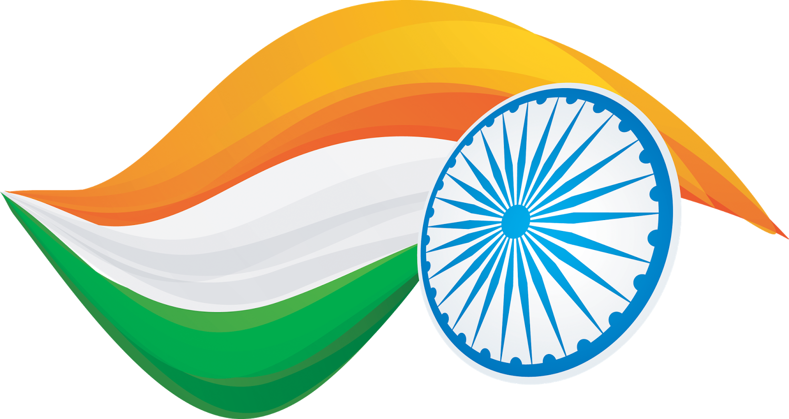 indian flag india flag png transparent vector clipart downloads #38512