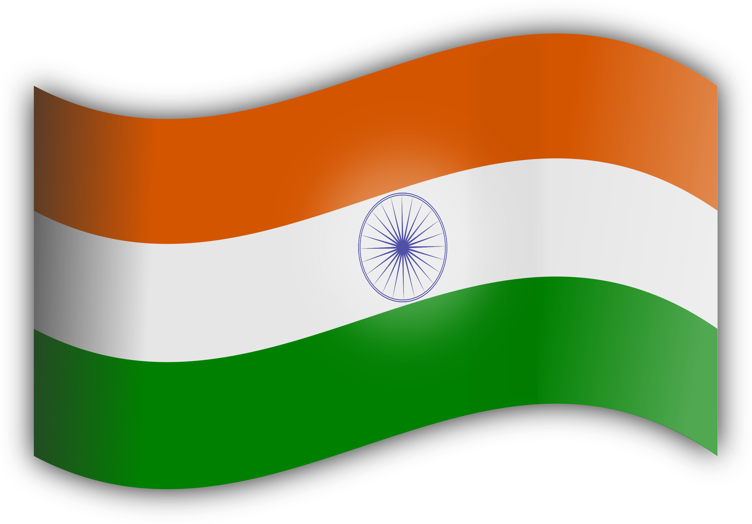 indian flag png transparent images png only #38529