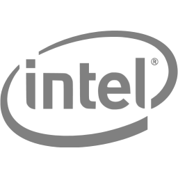 grey old intel logo png #4128