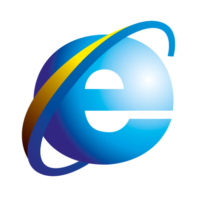 internet explorer logos in vector format (eps, ai, cdr  #4699