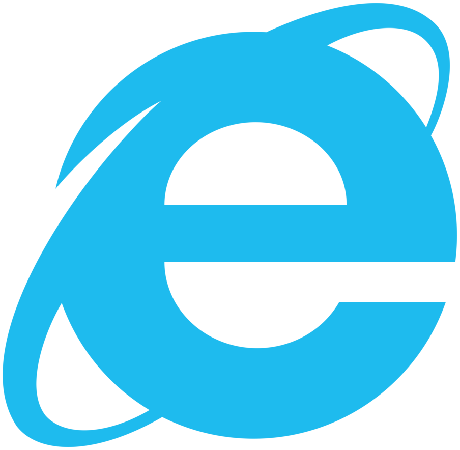 internet explorer simplistic logo, vector by luchocas on  4710