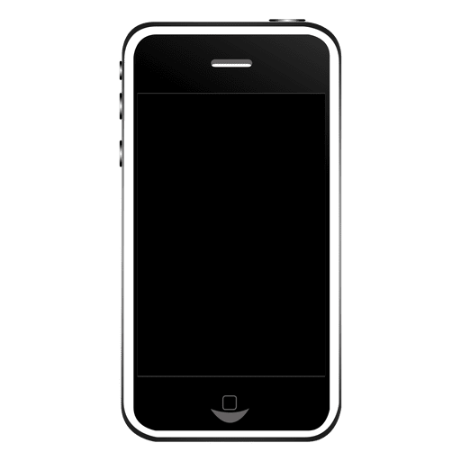 iphone front transparent png svg vector #11206