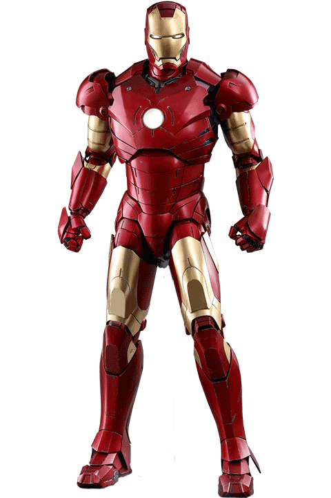 marvel iron man mark iii deluxe version quarter scale #25702
